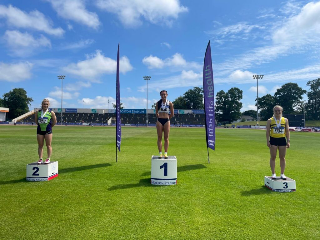 Caitlin Maguire takes bronze in the 100m