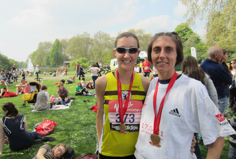 Gladys and Lisa after the VLM 2011