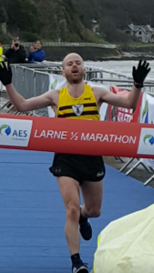 Mark McKinstry Larne Half