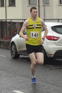 Mark McCallion in the 5k