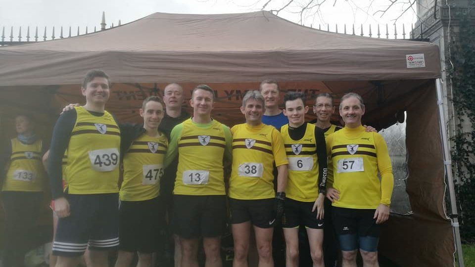 Stormont XC Febraury 2018 (some of the guys)
