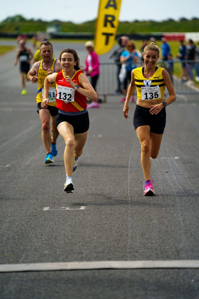 Tracey Atkinson at Jimmy's 10k